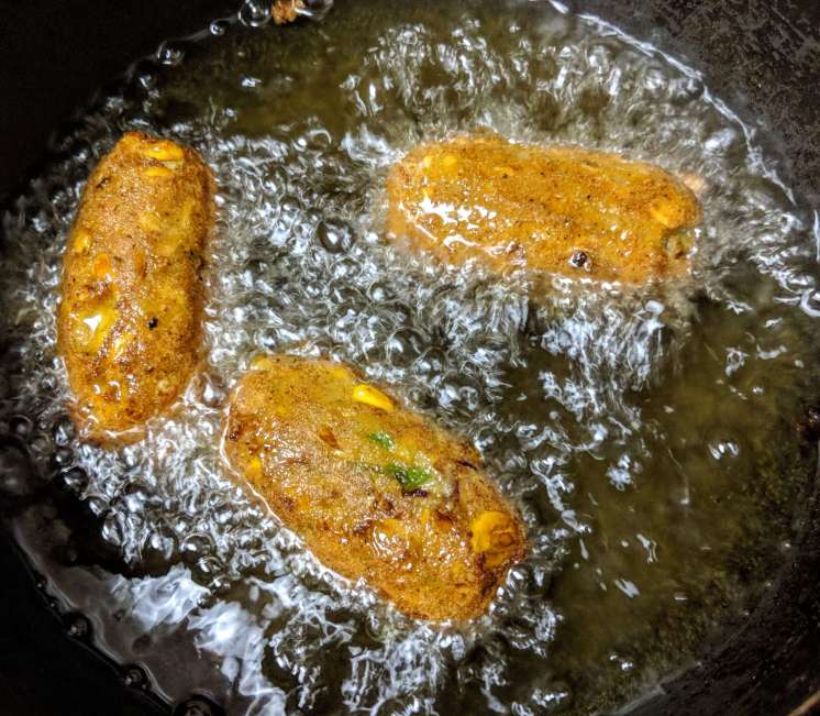 Corn Cutlet Recipe Step By Step Instructions 9