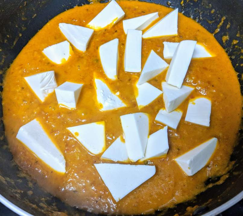 Paneer Makhani Recipe Step By Step Instructions 6