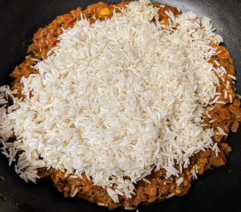 Tomato Rice Recipe Step By Step Instructions 8