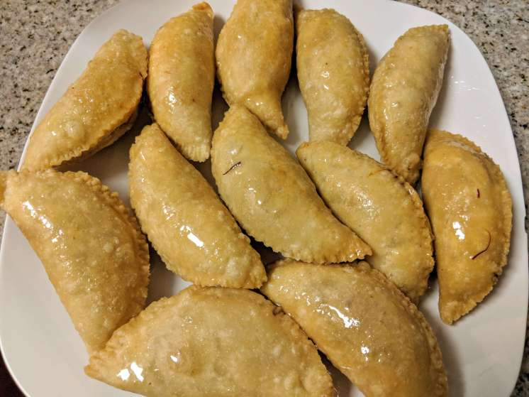 Gujiya Recipe Step By Step Instructions 23