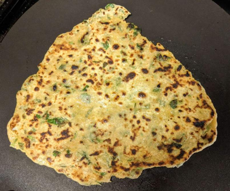 Methi Paratha Recipe Step By Step Instructions 15