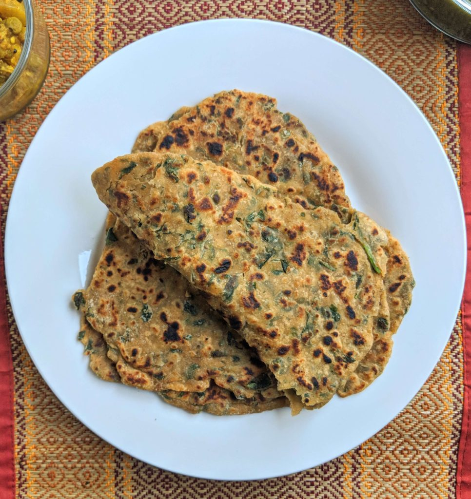 Methi Paratha Recipe Step By Step Instructions