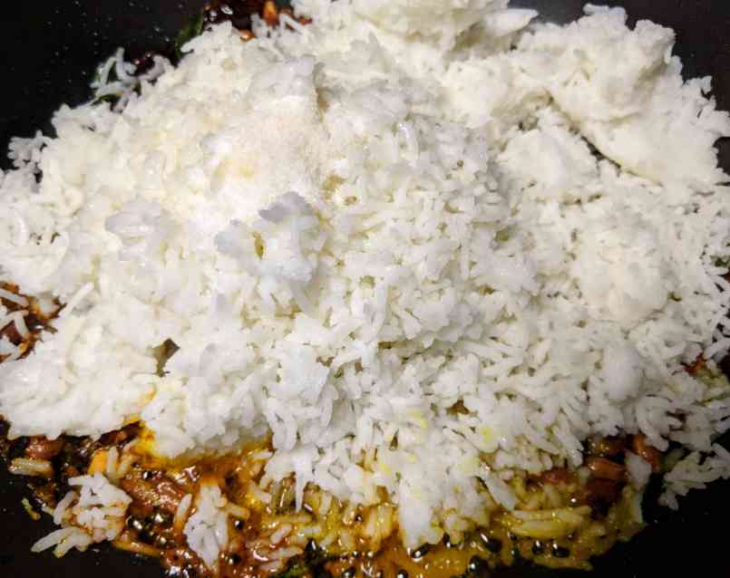 Pulihora | Tamarind Rice Recipe Step By Step Instructions 4