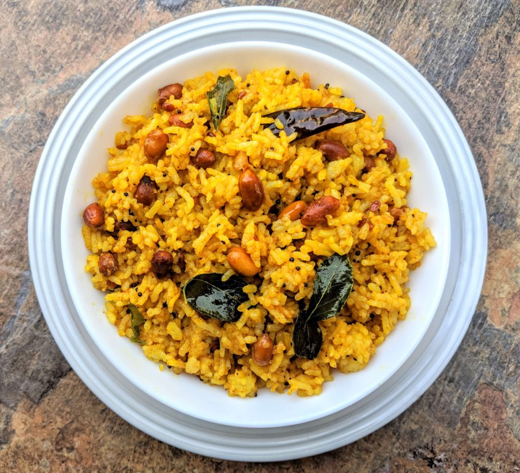 Pulihora | Tamarind Rice Recipe Step By Step Instructions