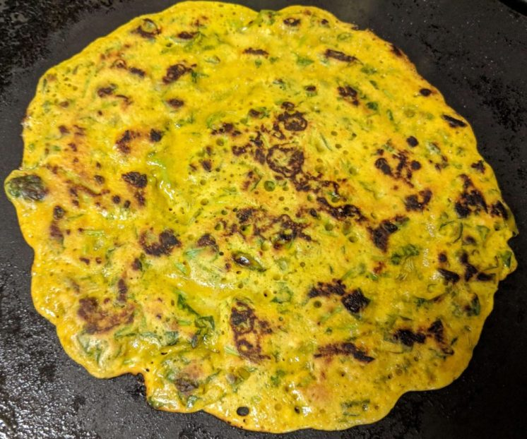 Methi Cheela Recipe Step By Step Instructions 9