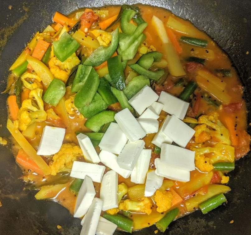 Vegetable Jalfrezi Recipe Step By Step Instructions 7