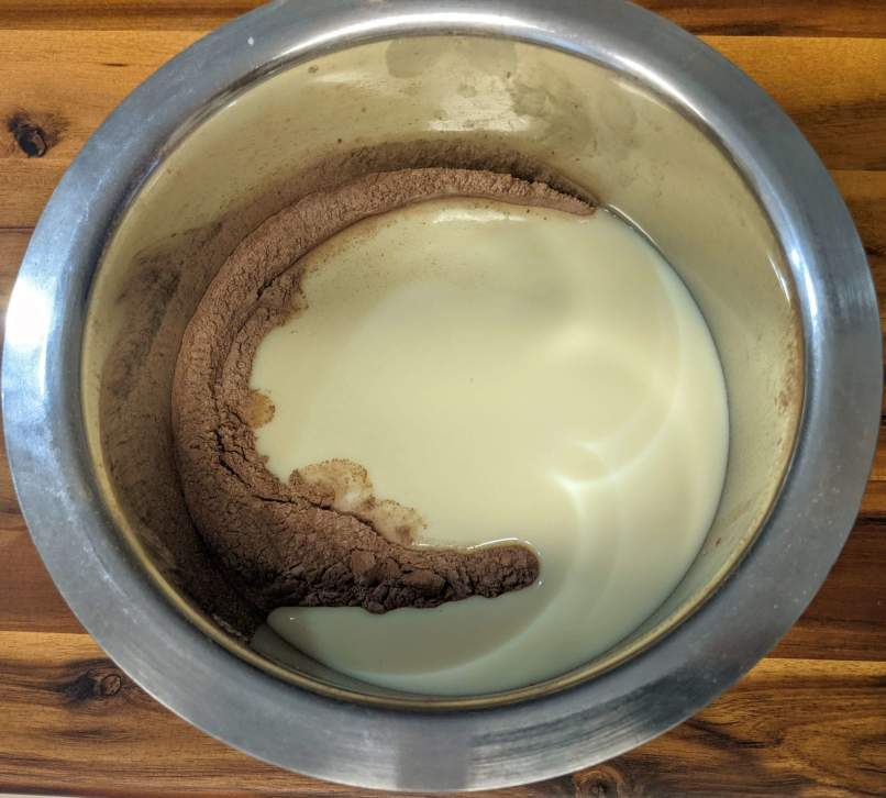 Eggless Chocolate Cake Recipe Step By Step Instructions 9
