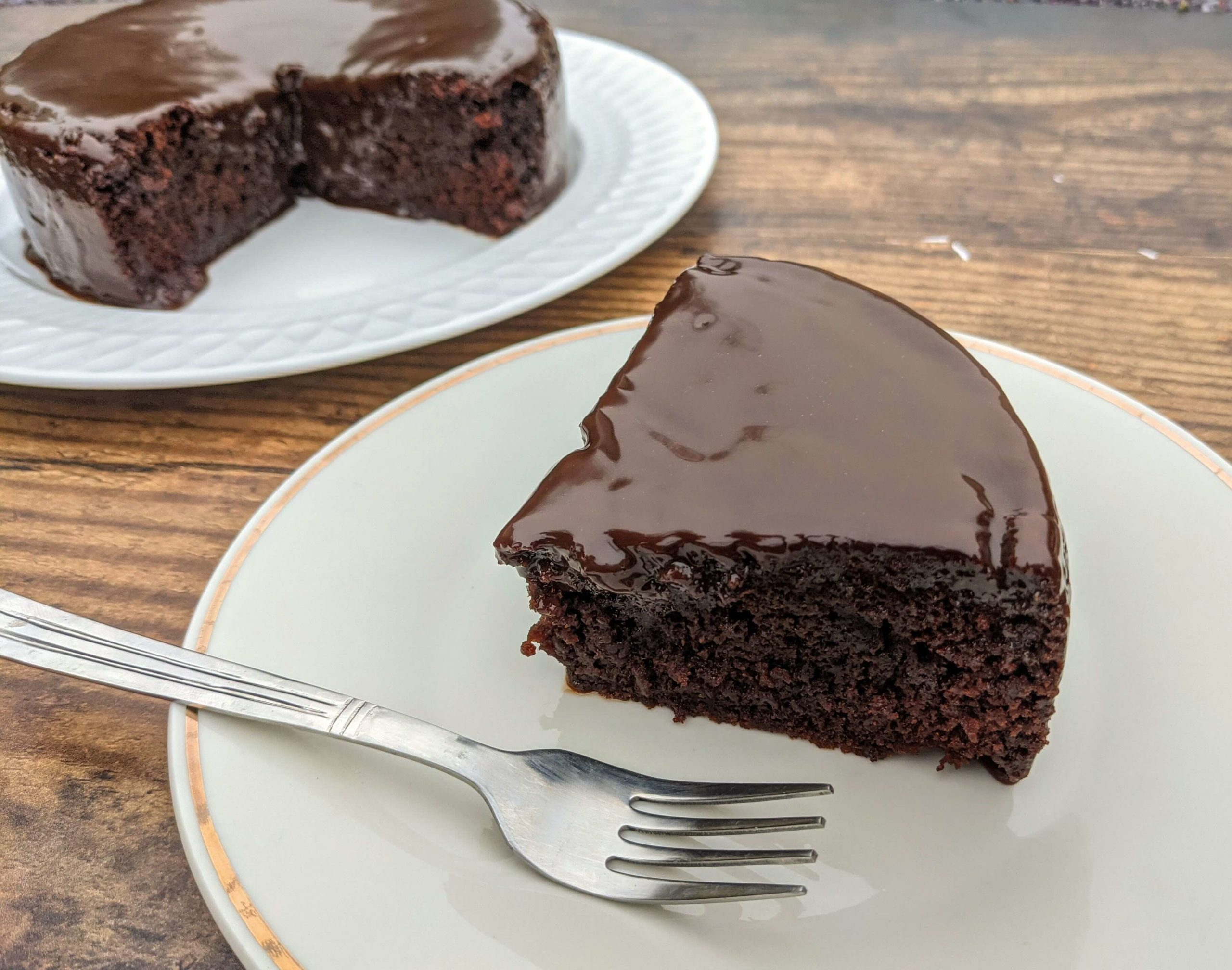 Eggless Chocolate Cake Recipe Step By Step Instructions