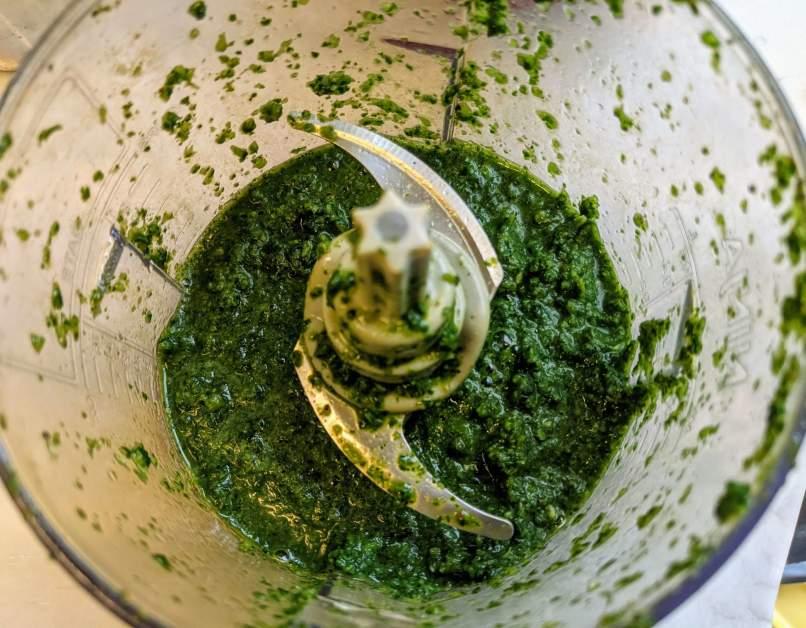 Mint Coriander Chutney Recipe Step By Step Instructions 4