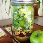 Mason Jar Waldorf Salad