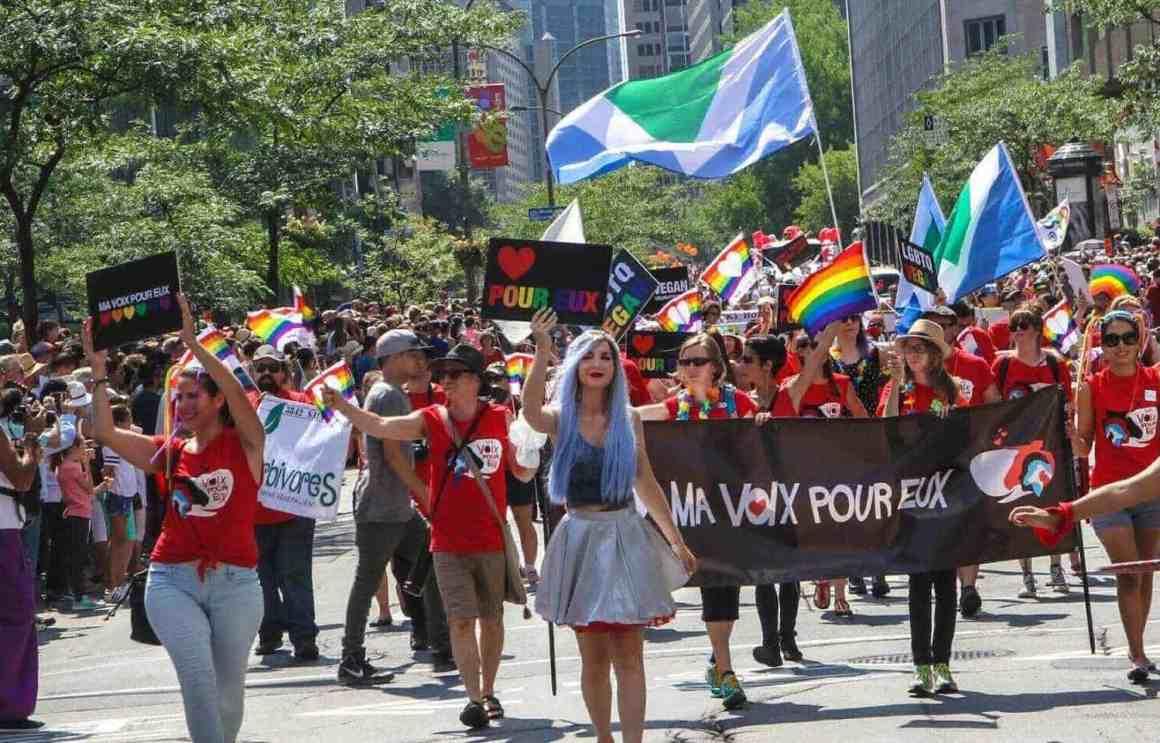 Pourquoi l'Association végétarienne de Montréal participe-t-elle à la Marche des Fiertés?
