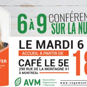 6 à 9 conférence sur la nutrition | Nouvelle date
