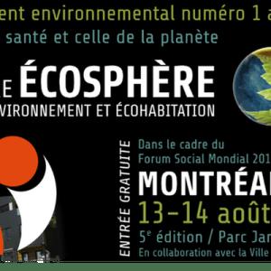 L'AVM à la Foire Écosphère de Montréal 2016