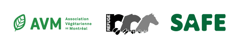 Logos - Association végétarienne de Montréal, Refuge Safe, Refuge RR
