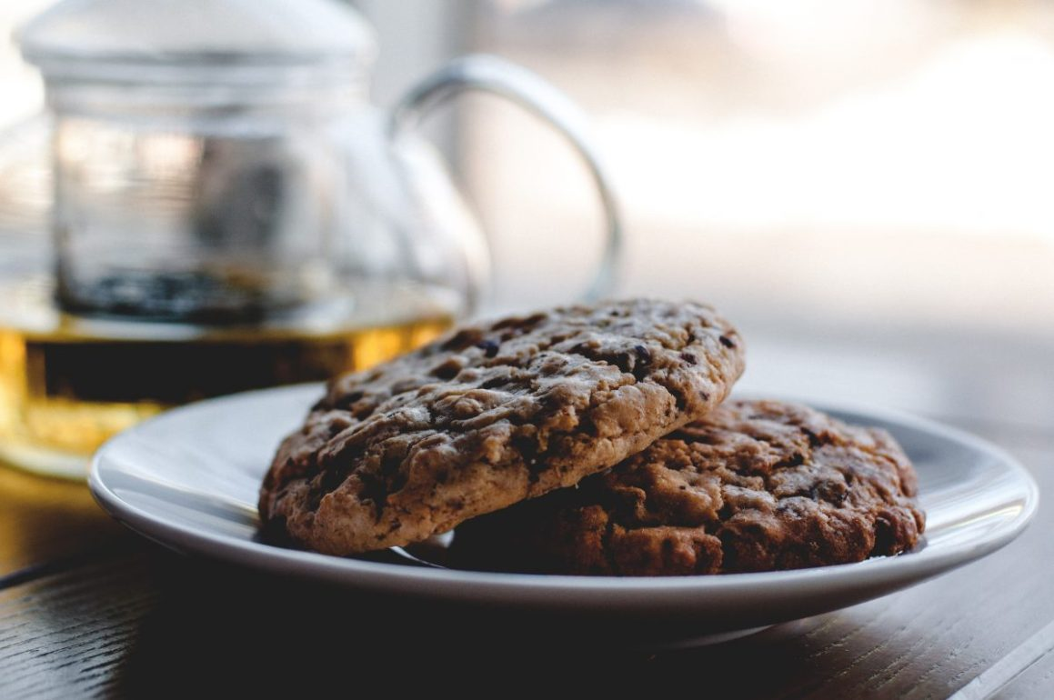 Biscuits à la framboise et pépites de chocolat (sans gluten)