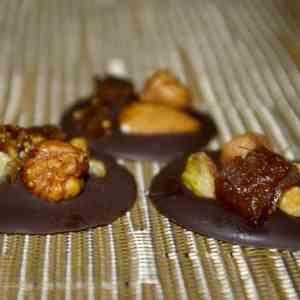 Petits gâteaux de Noël véganes : Mendiants