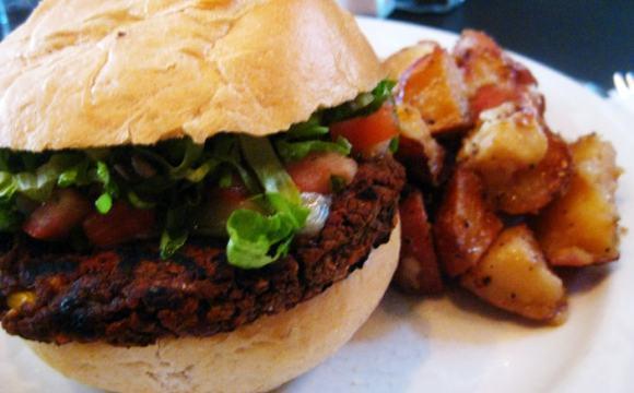 Végéburgers somptueux (et rapides)