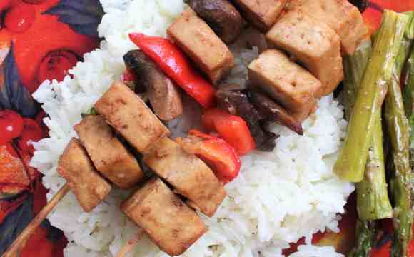 brochettes tofu et marinade de tofu