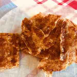 Bacon de riz croustillant