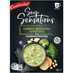 Continental Soup Sensations Cheesy Broccoli & Potato 56g