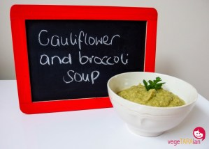 Revisited: Cauliflower and broccoli soup