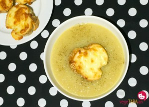 French onion soup with cheesy toast