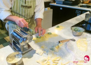 A pasta class at Recipease, Notting Hill