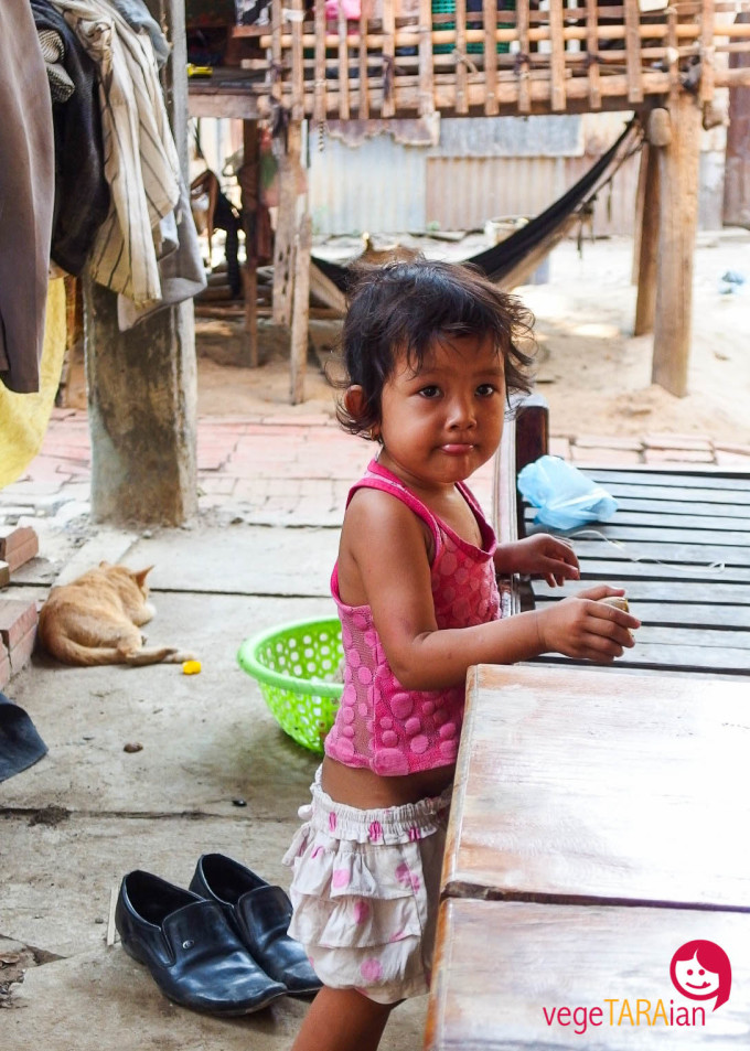 Battambang children, Cambodia