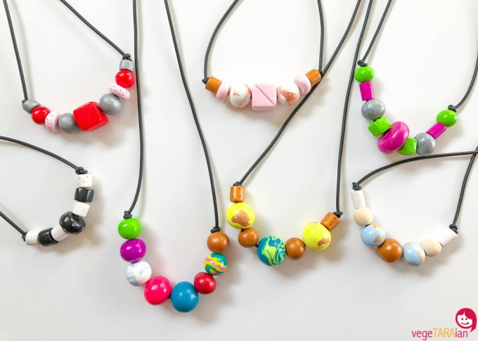 Homemade-polymer-clay-necklace