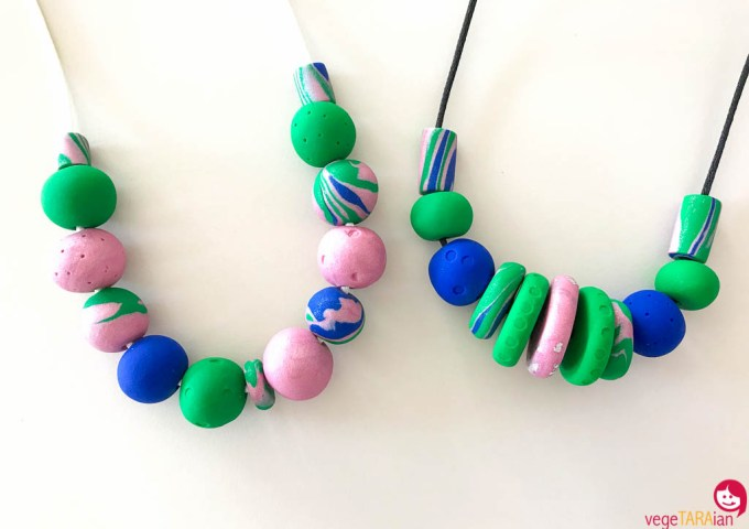 Etsy store restock – more colourful handmade necklaces