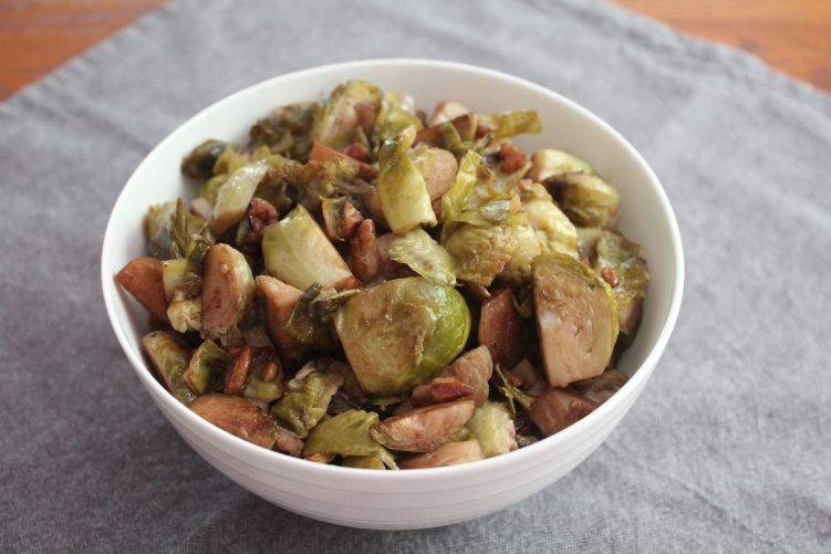Roasted Brussel Sprouts recipe by Vegetarian Atlas.