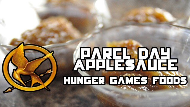 Parcel Day Applesauce (Hunger Games Foods)