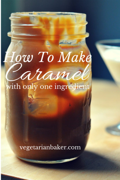 How To Make Caramel with Only One Ingredient
