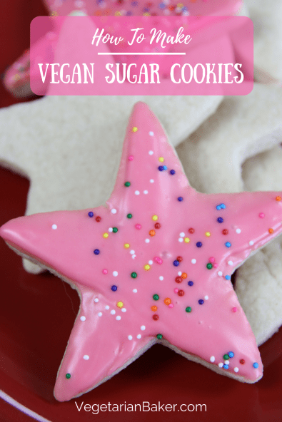 How To Make Easy Vegan Sugar Cookies
