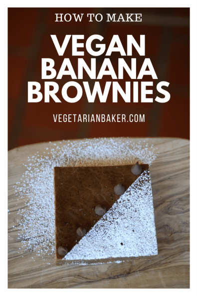 How To Make Vegan Banana Brownies
