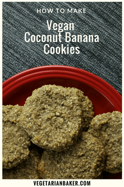 Vegan Coconut Banana Cookies! | Only 5 Ingredients!