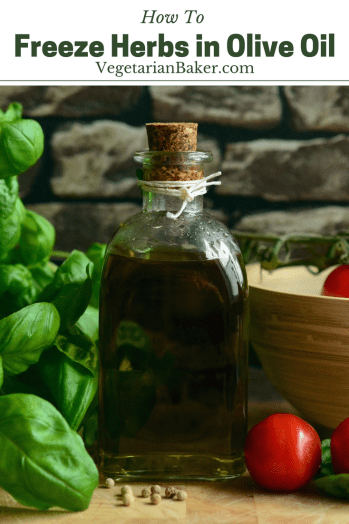 Freeze Fresh Herbs in Olive Oil | Kitchen Hack