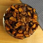 Roasted Cinnamon Sweet Potatoes | A Vegan Thanksgiving Recipe