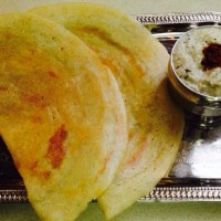 MIXED DAL DOSA WITH LESS RICE.( Same Batter 3 Recipes)