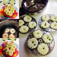 INSTANT CABBAGE IDLI WITH 3 MAIN INGREDIENTS