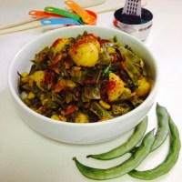 INDIAN BROAD BEANS MASALA CURRY