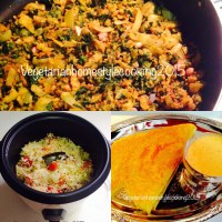 15 MNUTES BREAKFAST,LUNCH, DINNER( LENTILS OATS DOSA, CABBAGE MOONG DAL BIRYANI, SPINACH STIR FRY WITH RAW MANGO
