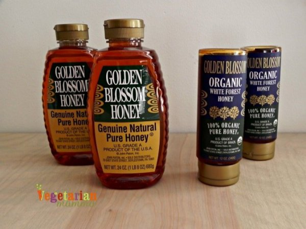 Golden Blossom Honey Review and Giveaway Vegetarian Mamma