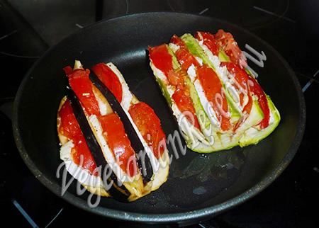 Овощи, запеченные в духовке - рецепт с фото