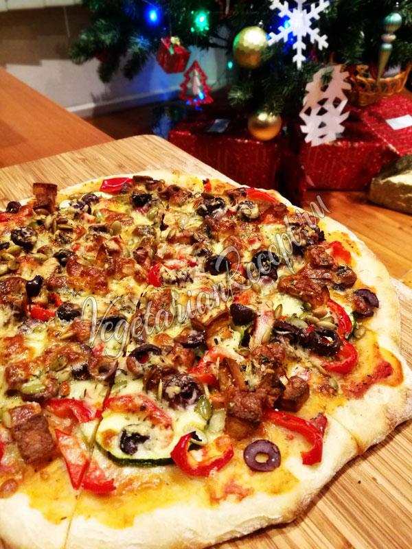 Тесто для пиццы на закваске - рецепт с фото