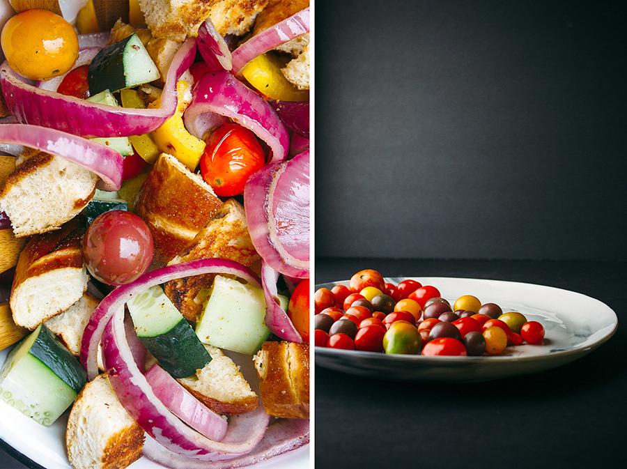 Grilled Pretzel Panzanella Salad