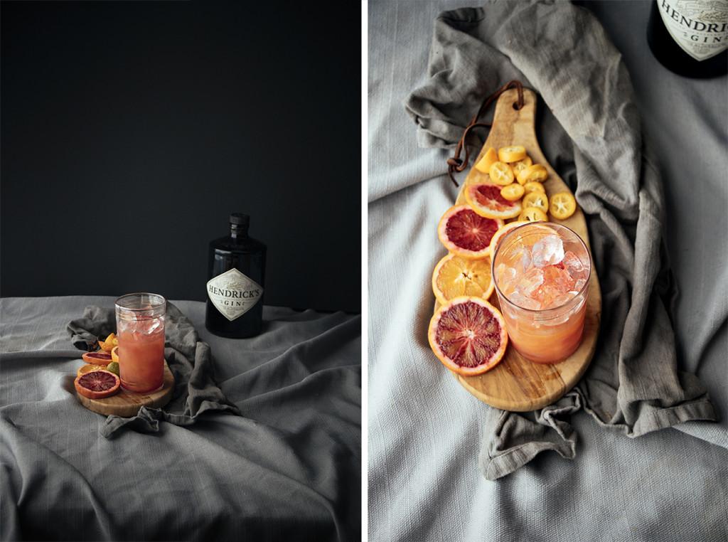 Gin & [Blood Orange] Juice