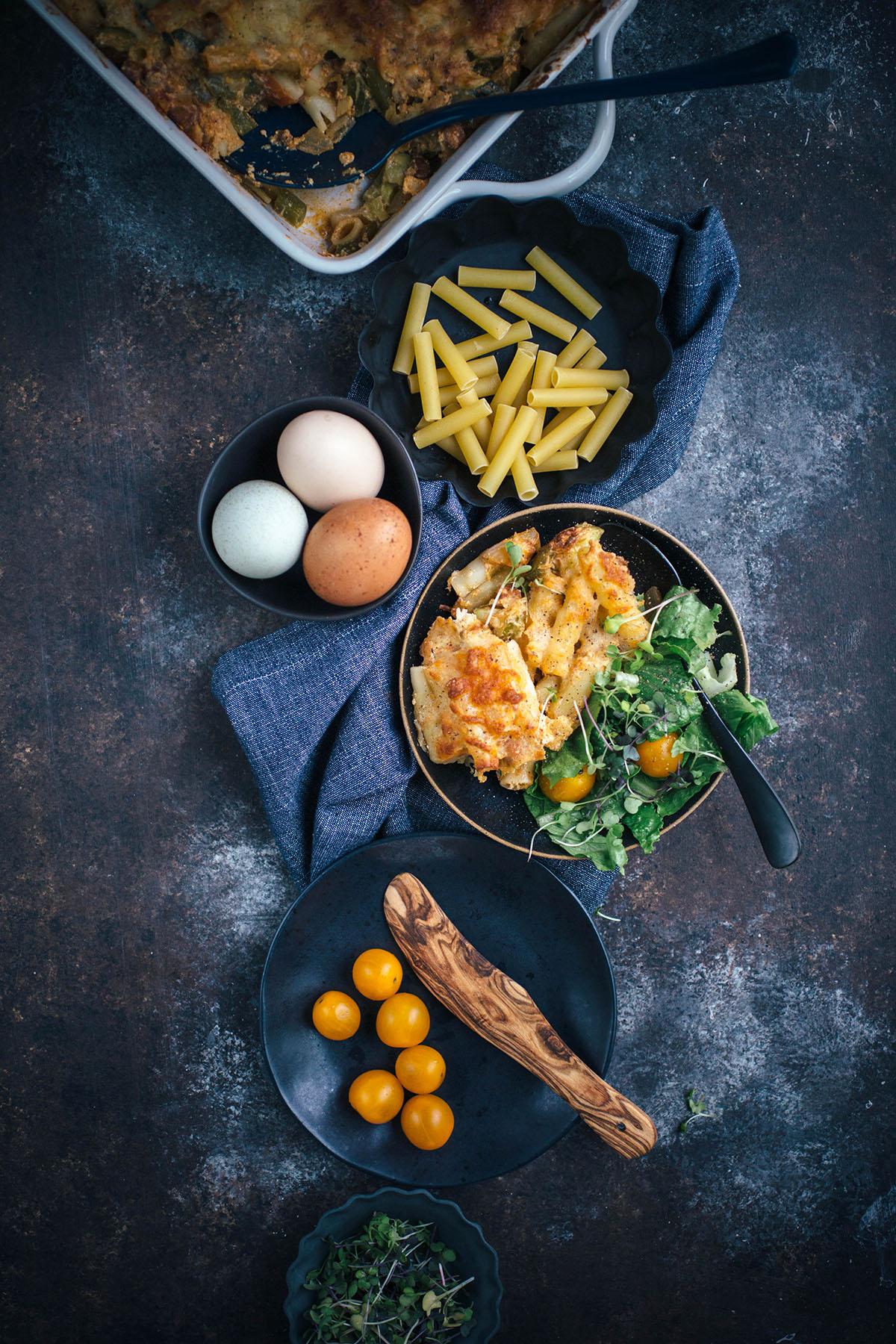 Vegetarian Baked Ziti