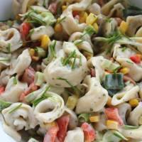 Veganer Tortellini-Salat