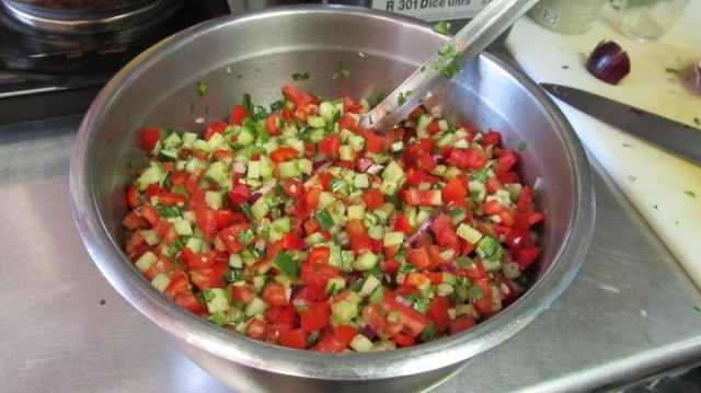 Jerusalem Salad . . . The Fun Version